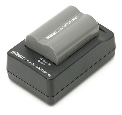 cargador nikon bateria