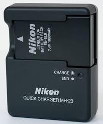 cargador nikon bateria nikon