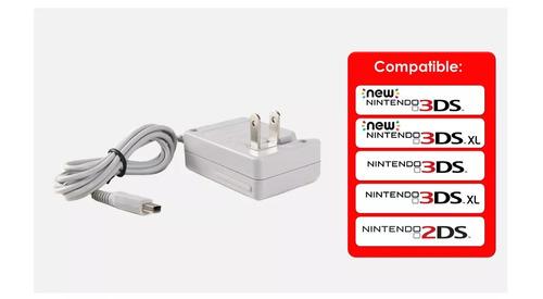 cargador nintendo 3ds 2ds dsi new 3ds xl todas versiones