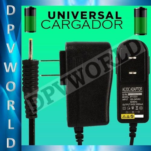cargador nokia tablet pc  2.0 amp pin delgado equipos antigu