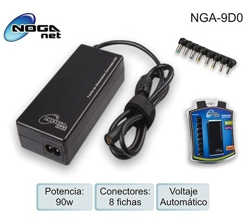 cargador notebook hp dell compaq universal - factura a / b