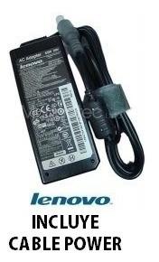 cargador notebook lenovo ibm thinkpad serie 20v 3.25a 65w
