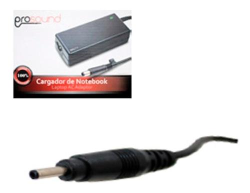 cargador notebook samsung 19v 2.1 amp punta fina