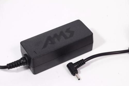 cargador nuevo original p asus netbook 40w 19v 2.1a microcen