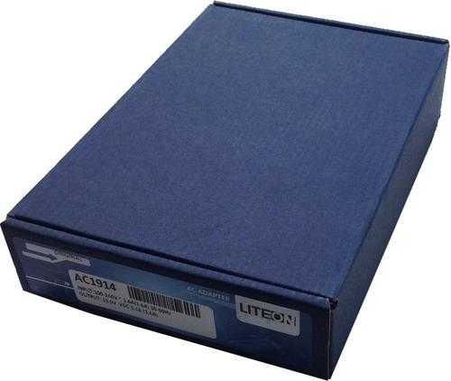 cargador original acer 4738z-4520 19v 3.42a mmu