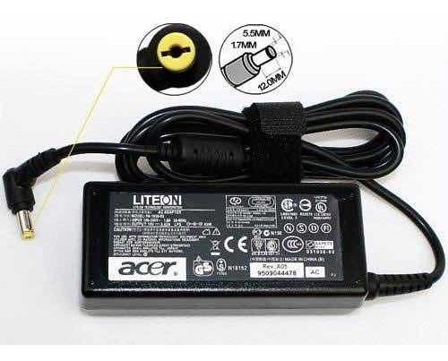 cargador original acer aspire e15 19v 3.42 65wats