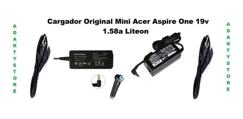 cargador original acer mini garantizado