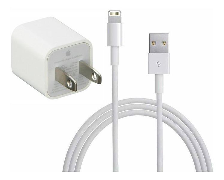 85779385a36 Cargador Original Apple Con Lightning Cable iPhone 5 6 7 - $ 249.00 ...