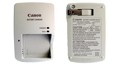 cargador original canon cb-2ly para bateria nb-6l