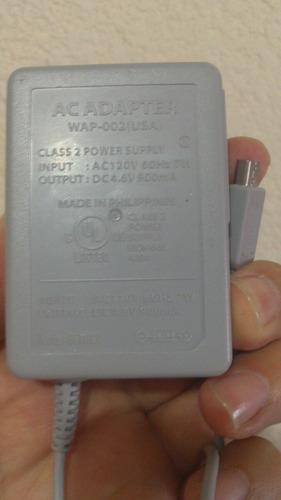 cargador original de 3ds, 2ds, new 3ds