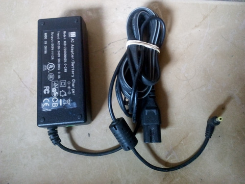 cargador original de dvd portatil coby modelo xkd-z2000nhs9