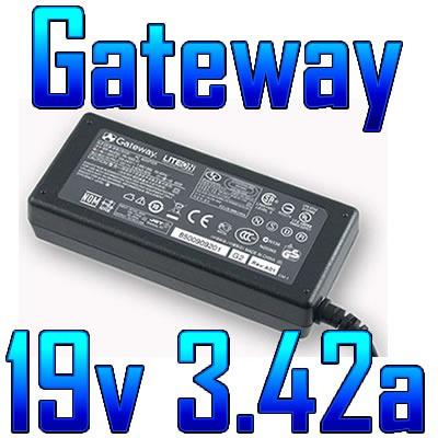 cargador original gateway 19v 3.42a 65w nuevo con garantia