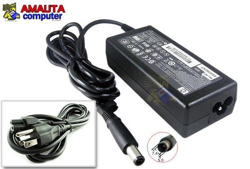 cargador original hp compaq 18.5v 3.5a 65w pin central cable