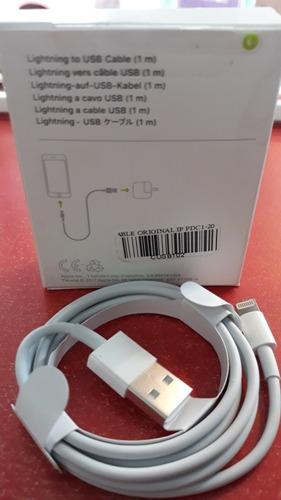 cargador  original iphone 6/ 7/ 8 , nuevos , garantía.