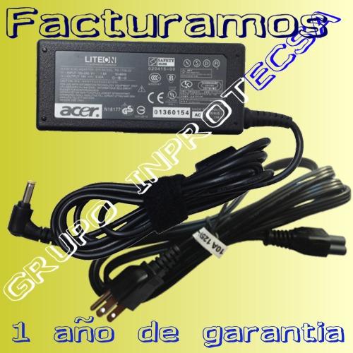 cargador original laptop acer aspire 5742-6430 19v 3.42a mmu