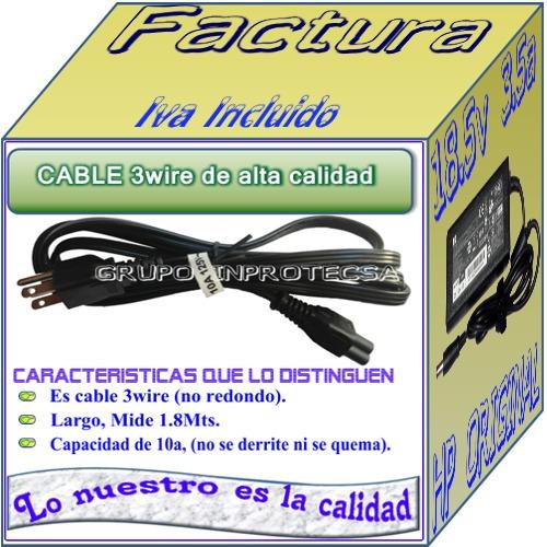cargador original laptop hp compaq dv4-4065la 18.5a 3.5a mmu