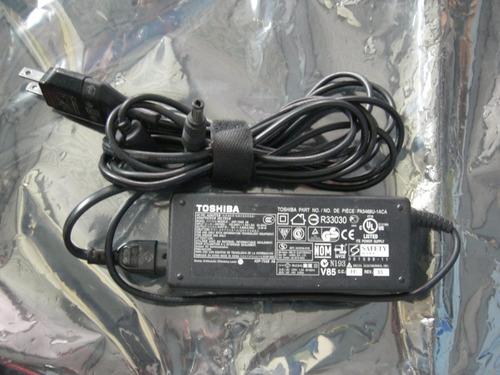 cargador original laptop toshiba 19v