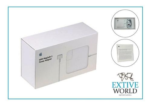 cargador original macbook pro retina air magsafe 2 tipo t
