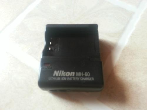 cargador original nikon mh-60 batery  en-el2 bp-nkl2 dden-el