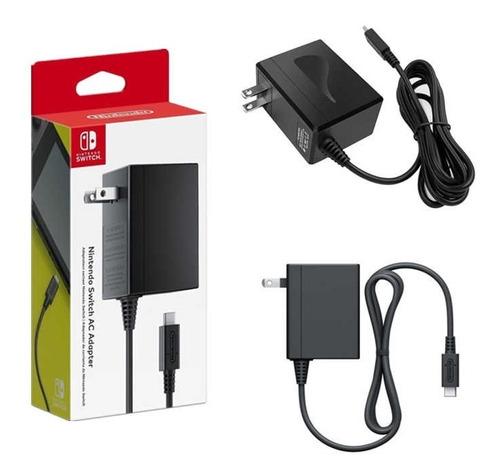 cargador original nintendo switch nuevo sellado¡¡