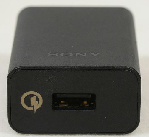 cargador original rápido sony xperia uch10 z2, z3, z4, z5