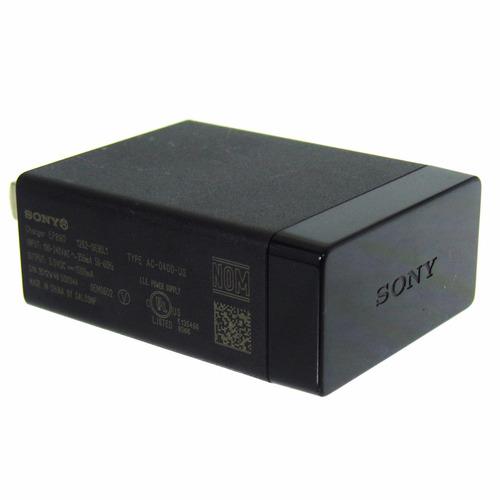 cargador original sony xperia 1.5 amp z1 z2 z3 m m5 c5 ep880