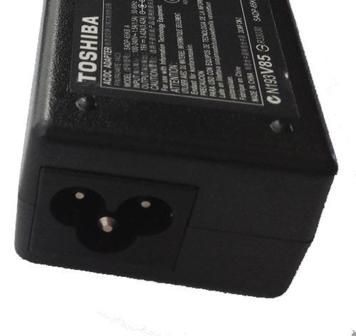 cargador original toshiba  c655 spst04m 19v 3.4a daa