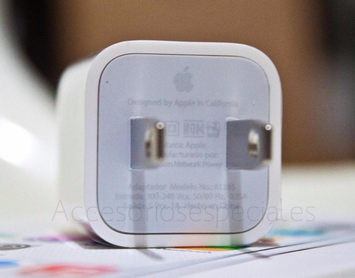 c4614b48edd Cargador Original Usb Apple iPhone 4, 5, 6 iPad Mini, 2 O 3 ...