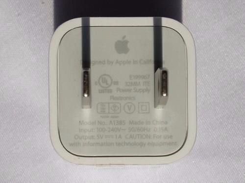 cargador original usb apple iphone 4s ipad 2, 3 solo docking