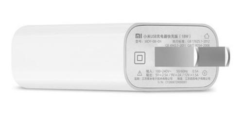 cargador original xiaomi de 18w