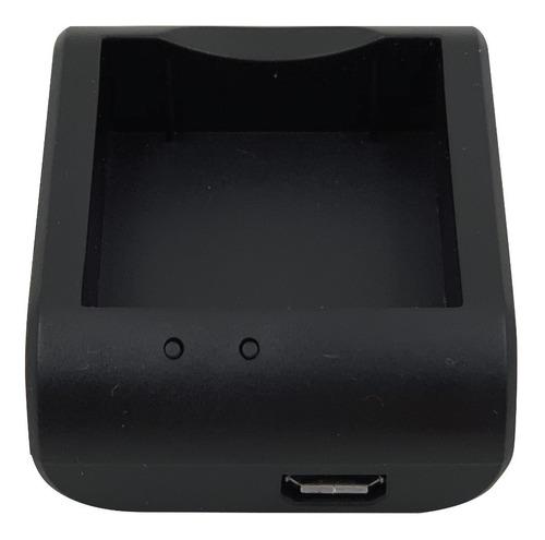 cargador p/ batería cámaras deportivas, noga, gadnic, noblex