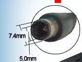 cargador p/ hp compaq 18.5v 3.5a 65w pin central dv4 cq rgl