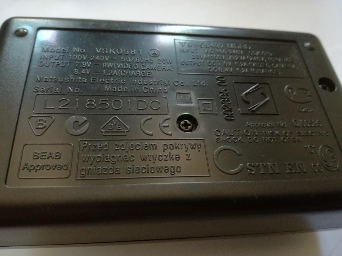 Cargador De Batería Para vsk0581 Panasonic AG-HVX200 Ag-hvx200a Ag-hvx200e Ag-hvx201