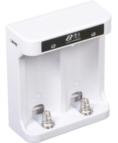 cargador para 2 baterías zhiyun 26500  / tecnoshop