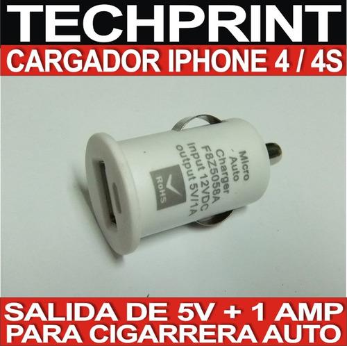 cargador para auto celular iphone