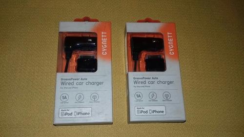 cargador para auto i phone 3 4 4s  i pod