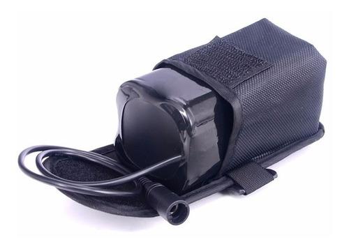 cargador para bateria lampara bicicleta solarstorm xm-l t6