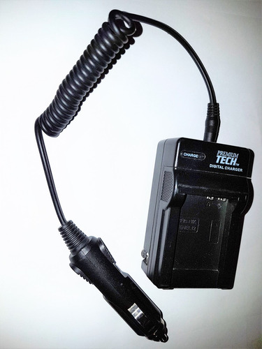 cargador para batería nikon en-el12 enel12 conector carro