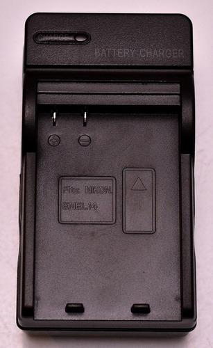 cargador para baterias en-el 14 y en-el 14a de nikon