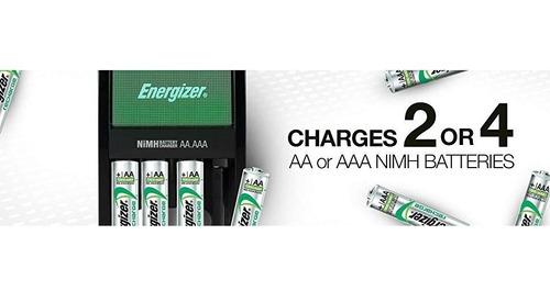 cargador para baterias recargables maxi energizer