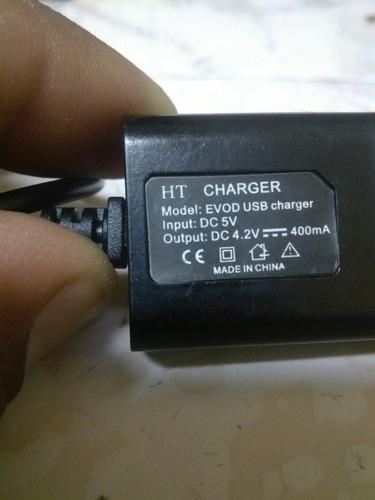 cargador para cigarro electronico kangertech mod.evod usb