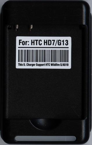 cargador para htc hd3 hd7 wildfire s grove pico t9292 a510e
