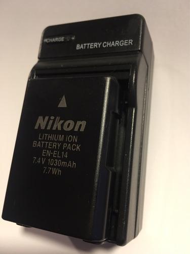 cargador para  nikon d3200 d3300 d5300 d5500 envio gratis