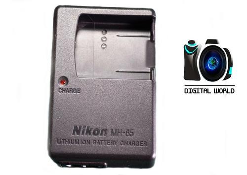 cargador para nikon mh-65 para bateria en-el12