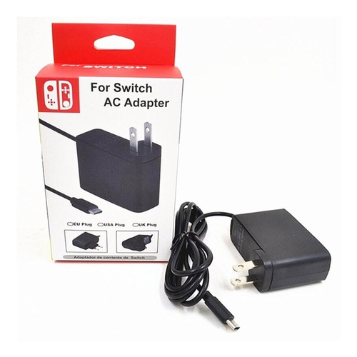cargador para nintendo switch