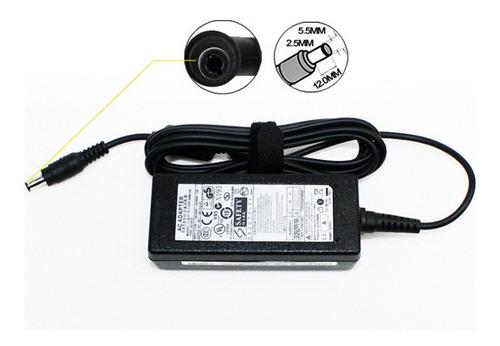 cargador para notebook samsung 19v 2.1a 40w 3.0*1.1