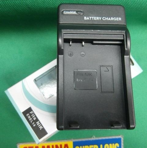 cargador para pila enel14 de nikon d3200 d3300 d5200 d5300