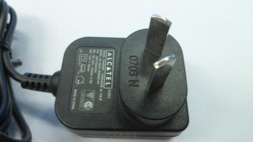 cargador pared 220v mini usb gps alcatel original 500ma fz