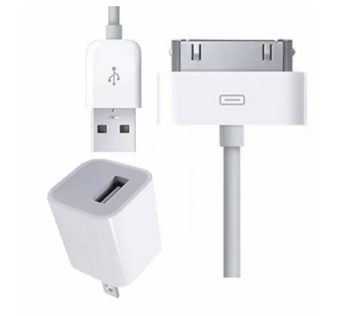 58ddd051a90 cargador pared 220v usb + cable para iphone 3 4s ipod touch. Cargando zoom.