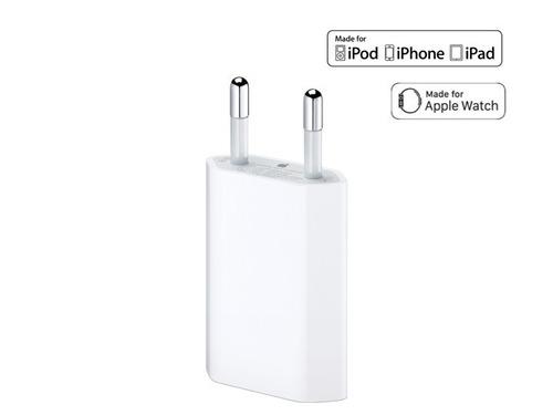 cargador pared + cable iphone 5 - 6 - 7 - 8 i caja sellados